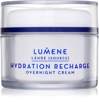 Lumene Lähde [Source of Hydratation] creme noturno hidratante